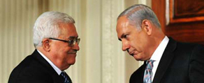 Bibi and Abbas shake hands