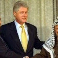 Clinton Barak and Arafat