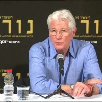 Richard Gere in Israel